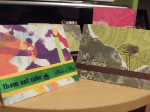 Handmade cards samples