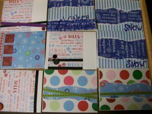 Christmas cards, 2009