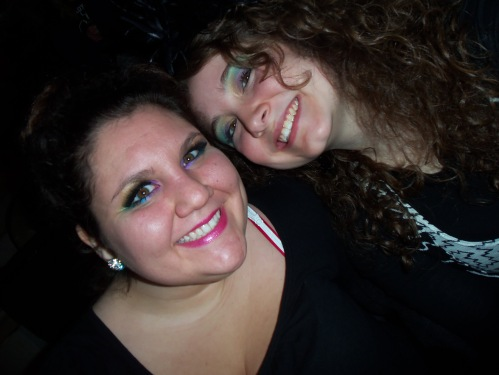 Ashley and me, Lady Gaga concert (February 26, 2011)