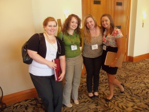 With some new friends I met at the PRSSA Leadership Rally, June 10 - 12