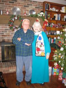 Grandma and Grandpa, Christmas 2010