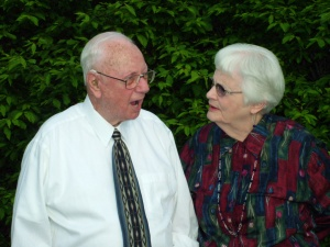 Grandma and Grandpa, June 2011