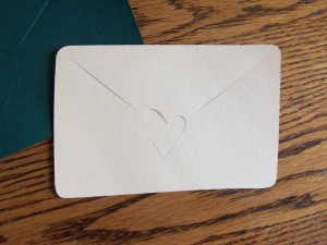Envelope Cricut design
