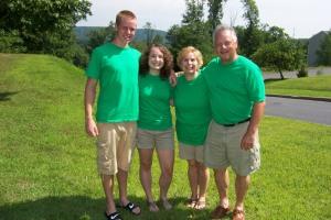 Matt, me, Jane, my dad