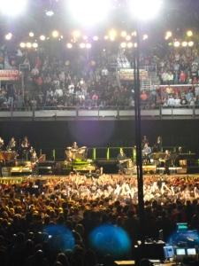 Bruce Springsteen crowd surfing