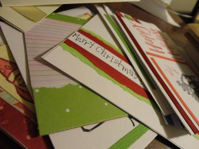 past holiday cards