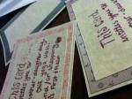 handmade gift cards